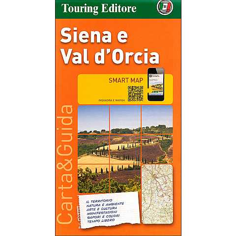 Siena e Val d'Orcia 1:175.000