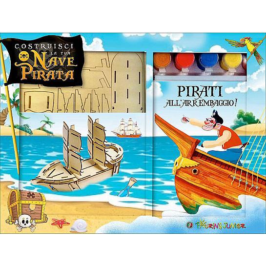 Costruisci la tua nave pirata libro gioco h1952a for Costruisci la tua planimetria