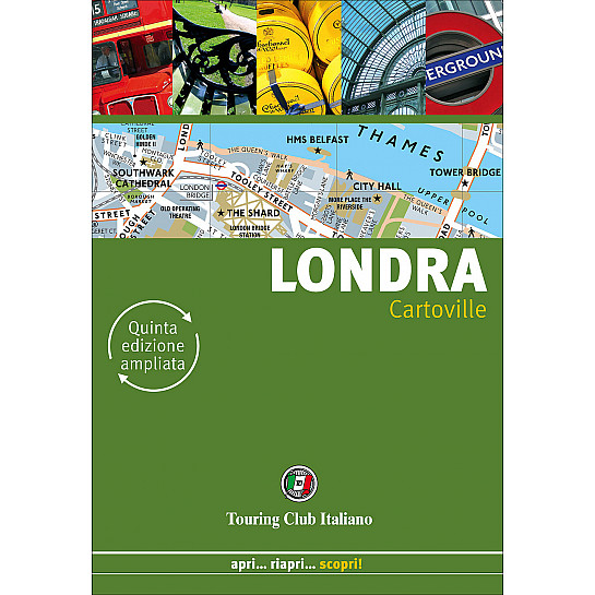 Londra cartoville h2255a outlet touring editore for Guide turistiche londra