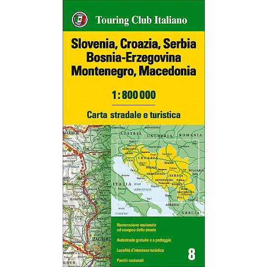 Slovenia Croazia Serbia Bosnia Erzegovina Montenegro Macedonia 1