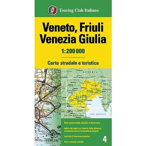 Cartina Mondo Touring.Carte E Atlanti