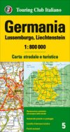 Germania Lussemburgo Liechtenstein 1:800.000