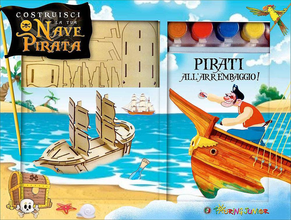 Costruisci la tua nave pirata touring editore libreria for Costruisci la tua stanza online