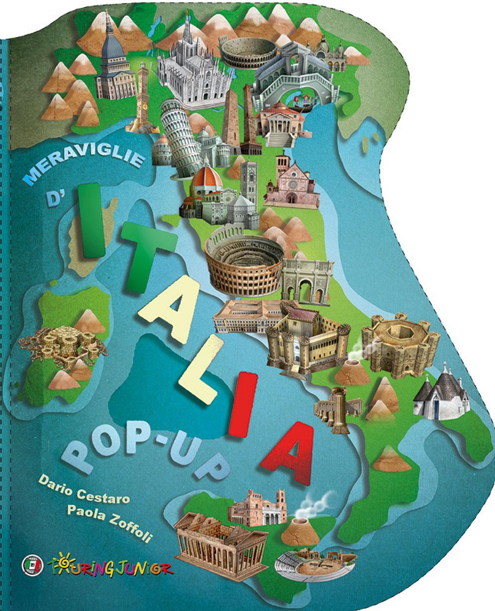 Meraviglie d 39 italia pop up touring editore libreria online touring editore srl - Eliminare finestre pop up ...