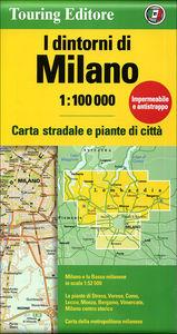 I dintorni di Milano 1:100 000