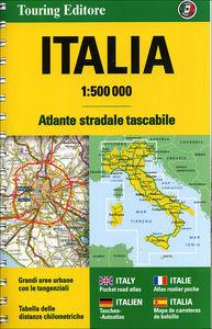 Italia Atlante stradale tascabile 1:500.000