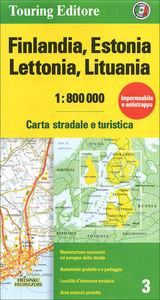 Finlandia, Estonia, Lettonia, Lituania 1:800.000