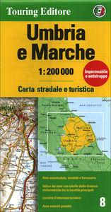 Umbria e Marche 1:200.000