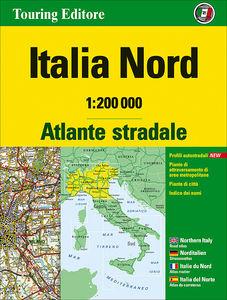 Atlante stradale Italia Nord 1:200.000