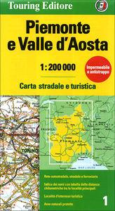 Piemonte e Valle d'Aosta<br> 1:200.000