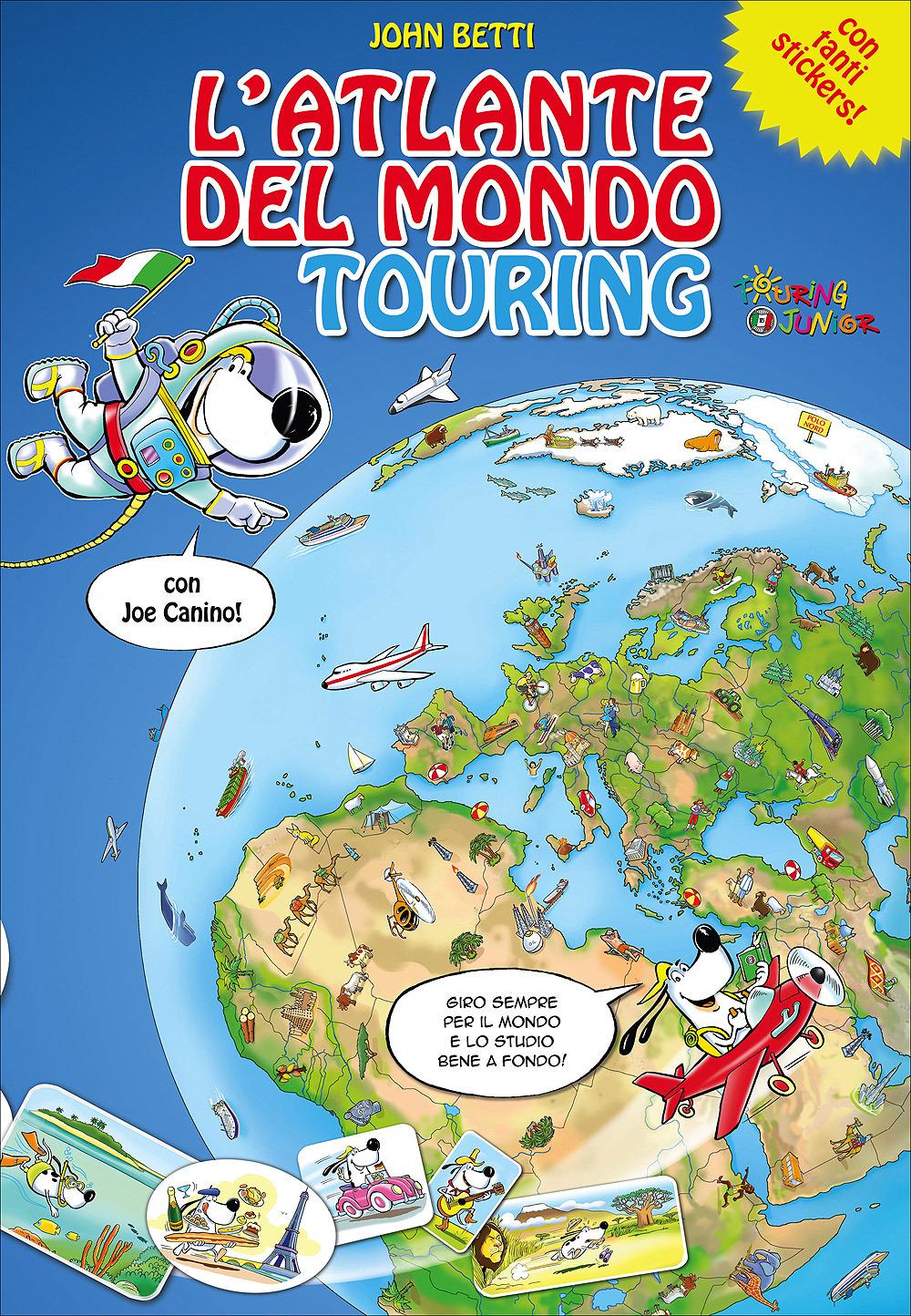 Cartina Mondo Touring.L Atlante Del Mondo Touring Atlanti Touring Junior H2657a Touring Editore